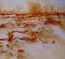 Landscape 1 - Mixed Media by Heather Holland by Heatherian
