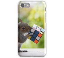 Squirrelisimo vs rubicks cube iPhone Case/Skin