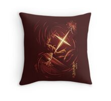 Flash of the Heavenly Dragon Throw Pillow