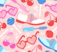 Sweetheart Pattern Sticker