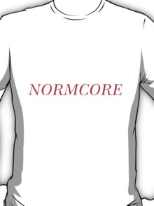 NORMCORE [Red] T-Shirt