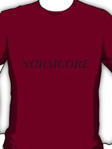 NORMCORE [Black] T-Shirt