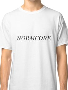 NORMCORE [Black] Classic T-Shirt