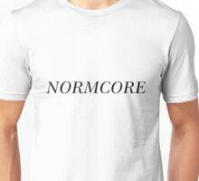 NORMCORE [Black] Unisex T-Shirt