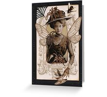 Winged Specimen Greeting Card
