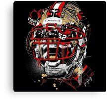 San Francisco 49ers Art Shirt Canvas Print
