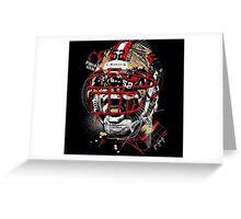 San Francisco 49ers Art Shirt Greeting Card