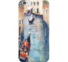Venice Gondolas 2A iPhone Case/Skin