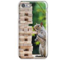 Squirrelisimo jenga peril iPhone Case/Skin