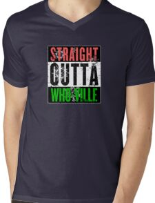 Straight Outta Who-Ville Mens V-Neck T-Shirt