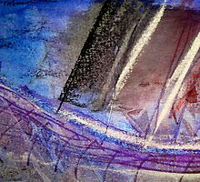 Mixed Media Abstract 3 by Heather Holland by Heatherian