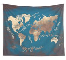 world map 29 Wall Tapestry