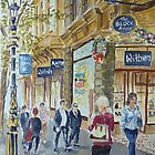 Collins Street by Virginia  Coghill