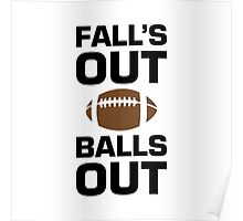 Falls Out Balls Out Poster