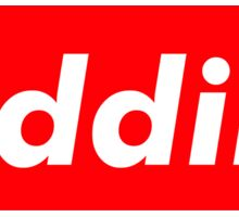Riddim. Sticker