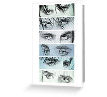 Bedroom eyes Greeting Card
