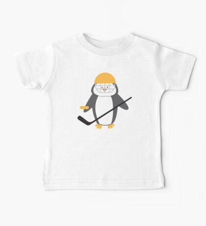 Ice hockey penguin Baby Tee