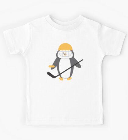 Ice hockey penguin Kids Tee