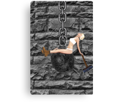 ✿♥‿♥✿ I CAME IN LIKE A WREAKING BALL-I NEVER HIT SO HARD IN LOVE-MILEY CYRUS SPOOF-WREAKING BALL SONG VIDEO INCLUDED✿♥‿♥✿  Canvas Print