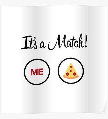 It's A Match Poster