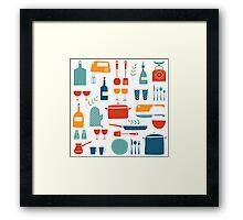 Love Your Kitchen  Framed Print