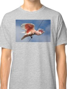 Major Mitchell's Cockatoo (Pink Cockatoo) ~ The Entertainer Classic T-Shirt