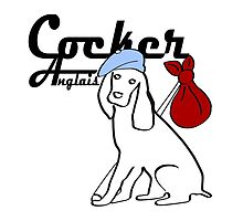 Cocker Anglais English Cocker Spaniel Gifts by 8milesfromhome