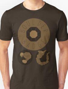 Boulder Badge - Kanto Region - Pokemon Unisex T-Shirt