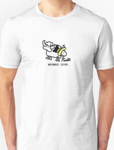 MooMoo Love - Who loves cows?  Unisex T-Shirt
