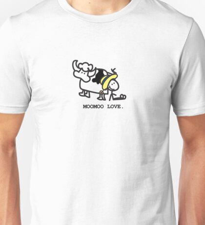 MooMoo Love - Who loves cows?  Unisex T-Shirt
