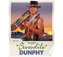 Crocodile Dunphy Poster
