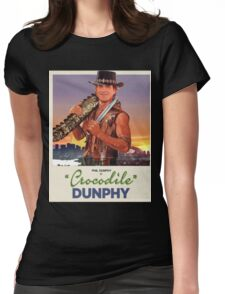 Crocodile Dunphy Womens Fitted T-Shirt