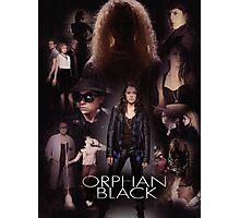 Orphan Black - In the Black Photographic Print