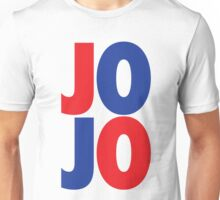 J O J O (Red/Blue/Blue/Red) Unisex T-Shirt