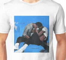 very blue and gay  Unisex T-Shirt
