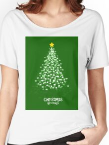 XMAS TREE Green Women's Relaxed Fit T-Shirt