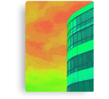 *SOLD* - FUNKY HOTEL Canvas Print
