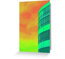 *SOLD* - FUNKY HOTEL Greeting Card