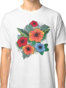 Hawaiian Flowers Classic T-Shirt
