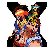 Street fighter CAPCOM Photographic Print