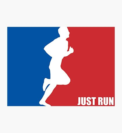 Just Run (All Star) Photographic Print