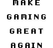 Make Gaming Great Again Photographic Print
