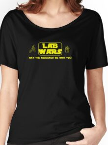 Lab Wars (yellow) Women's Relaxed Fit T-Shirt