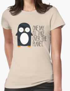 Penguin Ambition Womens Fitted T-Shirt
