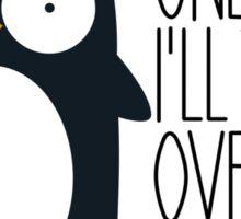 Penguin Ambition Sticker