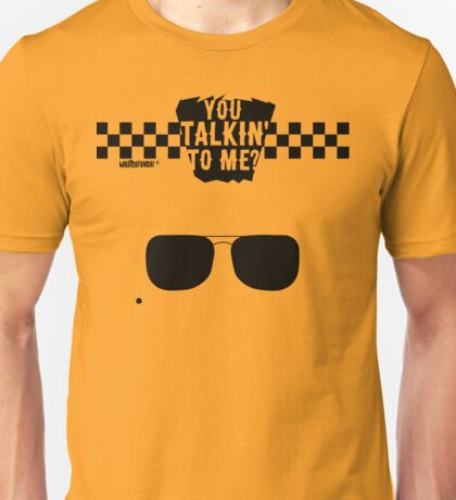 Taxi Driver - You talkin' to me? Unisex T-Shirt