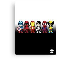 The Super Heroes - Cloud Nine Canvas Print