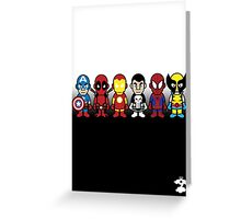 The Super Heroes - Cloud Nine Greeting Card