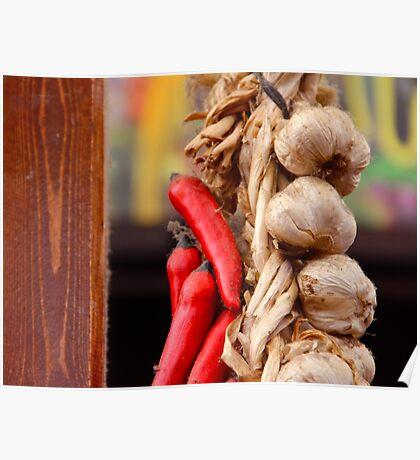 Garlic and Chilli Poster