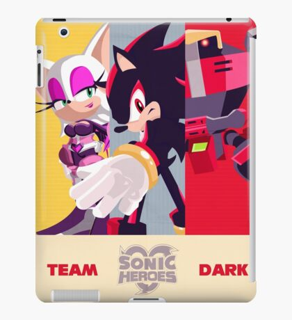 Team Dark - Sonic the Hedgehog iPad Case/Skin